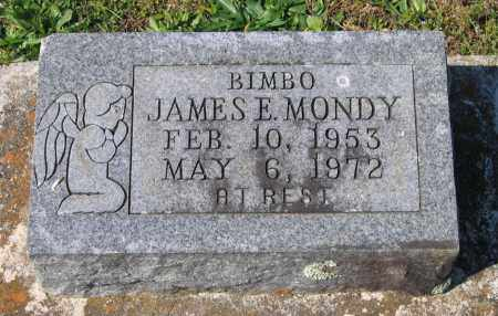 "MONDY, JAMES E. ""BIMBO"" - Lawrence County, Arkansas 