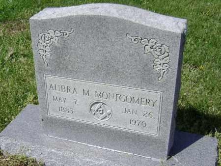 MONTGOMERY, AUBRA M. - Lawrence County, Arkansas | AUBRA M. MONTGOMERY - Arkansas Gravestone Photos