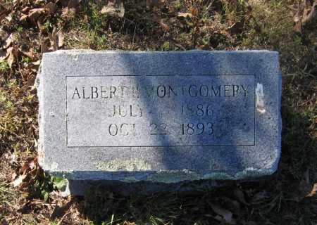 MONTGOMERY, ALBERT P. - Lawrence County, Arkansas   ALBERT P. MONTGOMERY - Arkansas Gravestone Photos