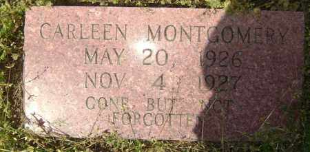 MONTGOMERY, CARLEEN - Lawrence County, Arkansas | CARLEEN MONTGOMERY - Arkansas Gravestone Photos