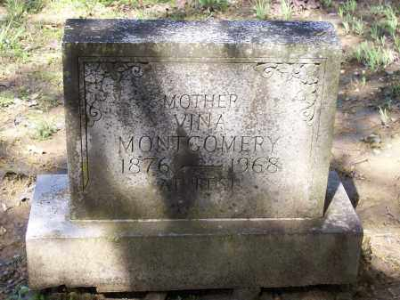 "MONTGOMERY, LUVINA ""VINA"" - Lawrence County, Arkansas | LUVINA ""VINA"" MONTGOMERY - Arkansas Gravestone Photos"