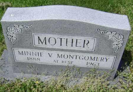 MONTGOMERY, MINNIE V. - Lawrence County, Arkansas | MINNIE V. MONTGOMERY - Arkansas Gravestone Photos
