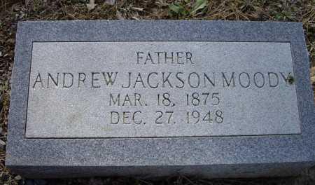 MOODY, ANDREW JACKSON - Lawrence County, Arkansas | ANDREW JACKSON MOODY - Arkansas Gravestone Photos