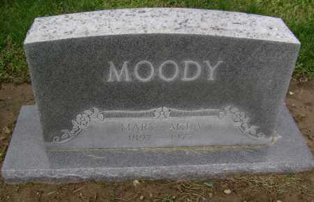 JONES MOODY, MARY AGLA - Lawrence County, Arkansas   MARY AGLA JONES MOODY - Arkansas Gravestone Photos