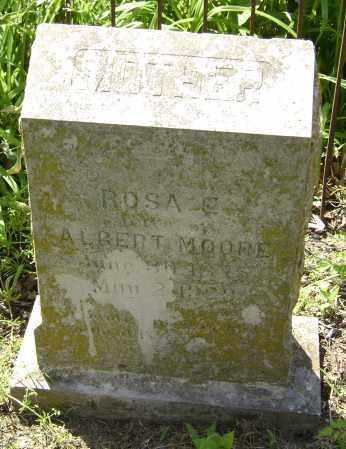 MOORE, ALBERT - Lawrence County, Arkansas   ALBERT MOORE - Arkansas Gravestone Photos