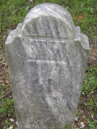 MOORE, REV., ALFRED J. - Lawrence County, Arkansas | ALFRED J. MOORE, REV. - Arkansas Gravestone Photos