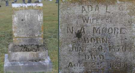 MOORE, ADA LUCINDA - Lawrence County, Arkansas | ADA LUCINDA MOORE - Arkansas Gravestone Photos