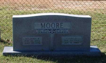 MOORE, BENJAMIN BEECHER - Lawrence County, Arkansas | BENJAMIN BEECHER MOORE - Arkansas Gravestone Photos