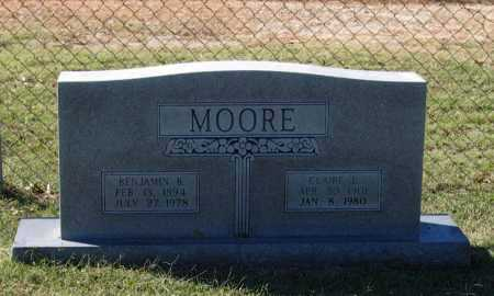MOORE, CLAIRE E. - Lawrence County, Arkansas | CLAIRE E. MOORE - Arkansas Gravestone Photos