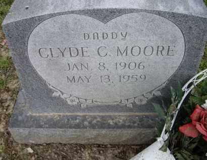 MOORE, CLYDE C. - Lawrence County, Arkansas | CLYDE C. MOORE - Arkansas Gravestone Photos