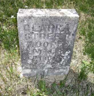 MOORE, CLARRA STREET - Lawrence County, Arkansas | CLARRA STREET MOORE - Arkansas Gravestone Photos
