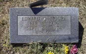 MOORE, EDWARD C. - Lawrence County, Arkansas   EDWARD C. MOORE - Arkansas Gravestone Photos