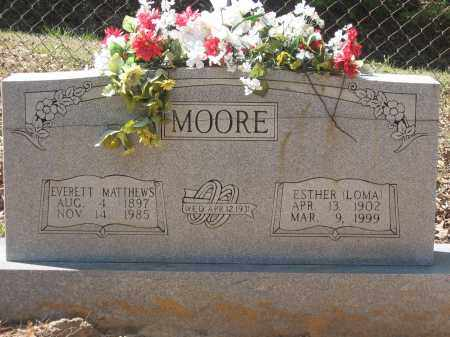 """SMITH MOORE, ESTHER SALOME """"LOMA"""" - Lawrence County, Arkansas 
