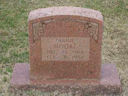 MOORE, FANNIE VIOLA - Lawrence County, Arkansas | FANNIE VIOLA MOORE - Arkansas Gravestone Photos
