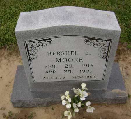 MOORE, HERSHEL E. - Lawrence County, Arkansas | HERSHEL E. MOORE - Arkansas Gravestone Photos