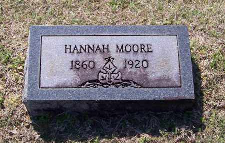 MOORE, HANNAH - Lawrence County, Arkansas | HANNAH MOORE - Arkansas Gravestone Photos
