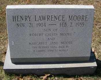 MOORE, HENRY LAWRENCE - Lawrence County, Arkansas | HENRY LAWRENCE MOORE - Arkansas Gravestone Photos