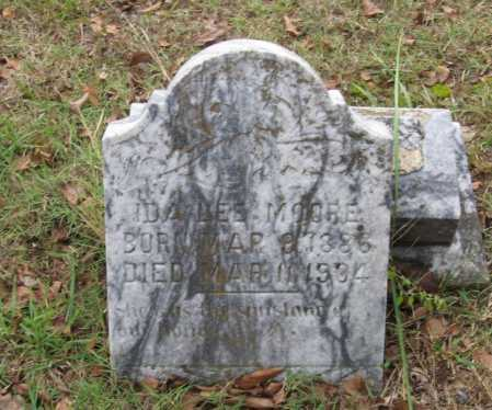 MOORE, IDA LEE - Lawrence County, Arkansas | IDA LEE MOORE - Arkansas Gravestone Photos