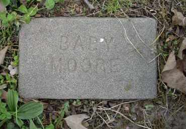 MOORE, INFANT - Lawrence County, Arkansas   INFANT MOORE - Arkansas Gravestone Photos