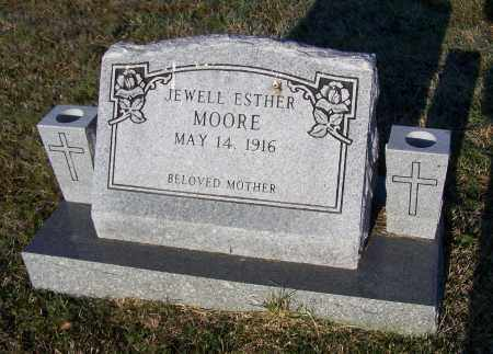 MOORE, JEWELL ESTHER CAMPBELL SMITH - Lawrence County, Arkansas | JEWELL ESTHER CAMPBELL SMITH MOORE - Arkansas Gravestone Photos