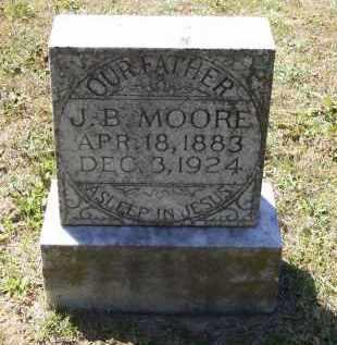 "MOORE, JESSE BEAUREGARD ""J. B."" - Lawrence County, Arkansas | JESSE BEAUREGARD ""J. B."" MOORE - Arkansas Gravestone Photos"