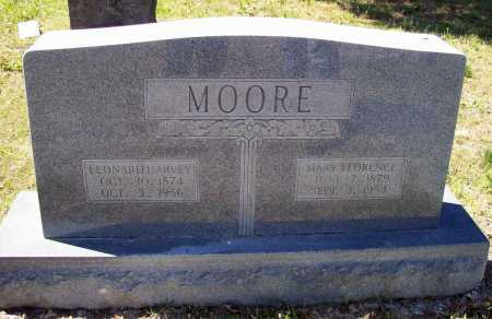 MOORE, MARY FLORENCE - Lawrence County, Arkansas | MARY FLORENCE MOORE - Arkansas Gravestone Photos