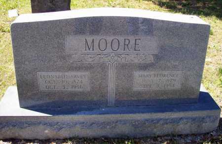MOORE, LEONARD HARVEY - Lawrence County, Arkansas | LEONARD HARVEY MOORE - Arkansas Gravestone Photos