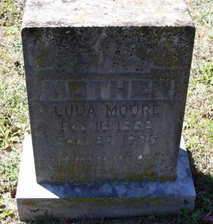 MOORE, LULA - Lawrence County, Arkansas | LULA MOORE - Arkansas Gravestone Photos