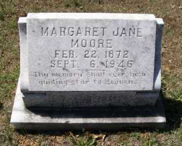 MATTHEWS MOORE, MARGARET JANE - Lawrence County, Arkansas | MARGARET JANE MATTHEWS MOORE - Arkansas Gravestone Photos