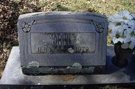 MOORE, MADGE - Lawrence County, Arkansas | MADGE MOORE - Arkansas Gravestone Photos