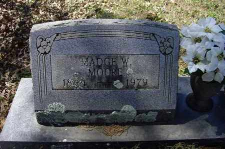 WEIR MOORE, MADGE - Lawrence County, Arkansas | MADGE WEIR MOORE - Arkansas Gravestone Photos