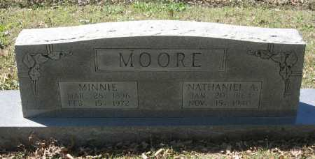 COLE MOORE, MINNIE - Lawrence County, Arkansas | MINNIE COLE MOORE - Arkansas Gravestone Photos