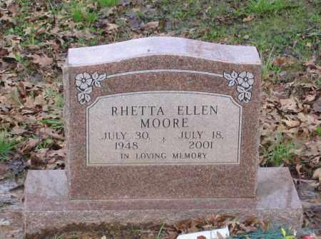 MOORE, RHETTA ELLEN - Lawrence County, Arkansas | RHETTA ELLEN MOORE - Arkansas Gravestone Photos