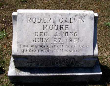 MOORE, ROBERT CALVIN - Lawrence County, Arkansas | ROBERT CALVIN MOORE - Arkansas Gravestone Photos