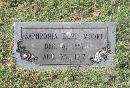 MOORE, SAPHRONIA A. - Lawrence County, Arkansas | SAPHRONIA A. MOORE - Arkansas Gravestone Photos