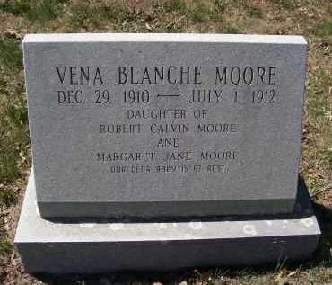 MOORE, VENA BLANCHE - Lawrence County, Arkansas | VENA BLANCHE MOORE - Arkansas Gravestone Photos
