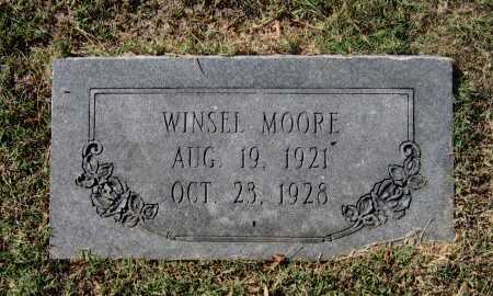 MOORE, WINSEL - Lawrence County, Arkansas | WINSEL MOORE - Arkansas Gravestone Photos