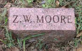 "MOORE, ZACHARIAH W. ""Z. W."" - Lawrence County, Arkansas 