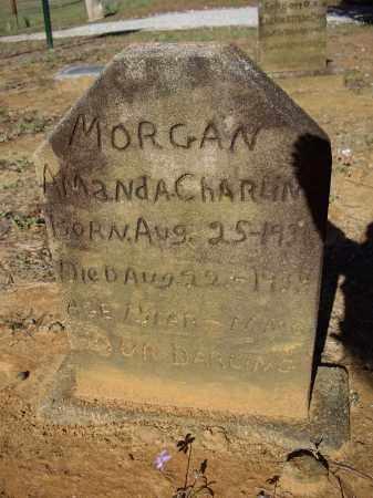 MORGAN, AMANDA CHARLINE - Lawrence County, Arkansas   AMANDA CHARLINE MORGAN - Arkansas Gravestone Photos