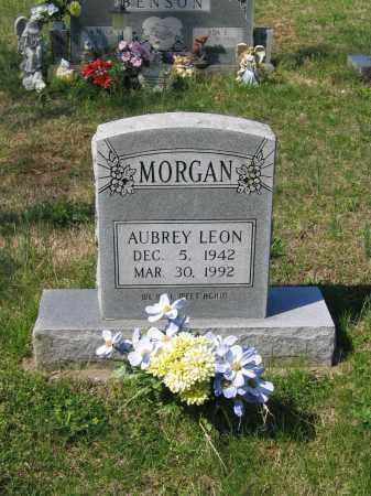 MORGAN, AUBREY LEON - Lawrence County, Arkansas | AUBREY LEON MORGAN - Arkansas Gravestone Photos