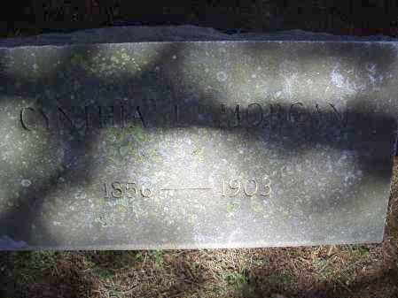 MORGAN, CYNTHIA L. - Lawrence County, Arkansas | CYNTHIA L. MORGAN - Arkansas Gravestone Photos