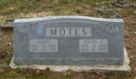 MOTES, DAVID E. - Lawrence County, Arkansas | DAVID E. MOTES - Arkansas Gravestone Photos