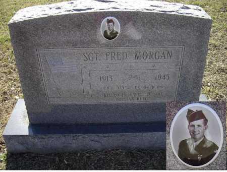 MORGAN (VETERAN WWII), FRED LEONARD - Lawrence County, Arkansas | FRED LEONARD MORGAN (VETERAN WWII) - Arkansas Gravestone Photos