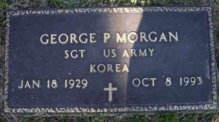 MORGAN, JR. (VETERAN KOR), GEORGE PARKER - Lawrence County, Arkansas | GEORGE PARKER MORGAN, JR. (VETERAN KOR) - Arkansas Gravestone Photos