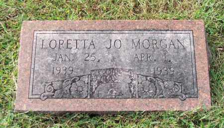 MORGAN, LORETTA JO - Lawrence County, Arkansas | LORETTA JO MORGAN - Arkansas Gravestone Photos