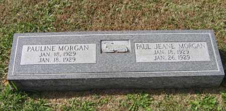 MORGAN, PAUL JEANE - Lawrence County, Arkansas | PAUL JEANE MORGAN - Arkansas Gravestone Photos
