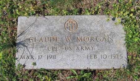 MORGAN (VETERAN), CLAUDE W. - Lawrence County, Arkansas   CLAUDE W. MORGAN (VETERAN) - Arkansas Gravestone Photos