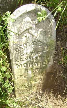 MORRICE, GEORGE H, - Lawrence County, Arkansas   GEORGE H, MORRICE - Arkansas Gravestone Photos