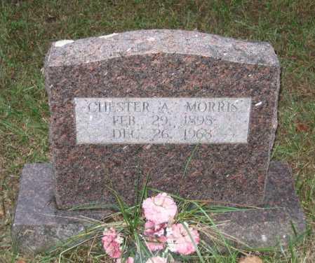 MORRIS, CHESTER A. - Lawrence County, Arkansas | CHESTER A. MORRIS - Arkansas Gravestone Photos