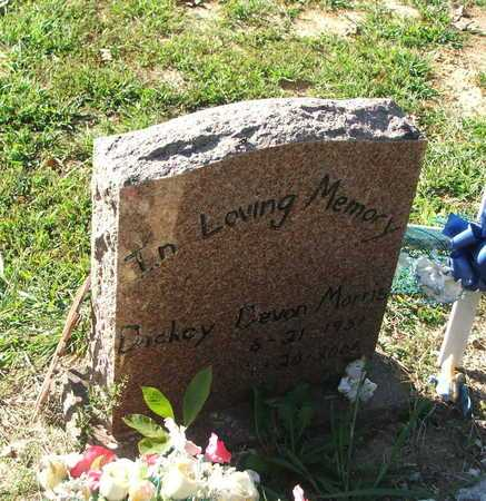 MORRIS, DICKEY DEVON - Lawrence County, Arkansas | DICKEY DEVON MORRIS - Arkansas Gravestone Photos